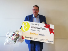 Wellness Nordic vinder Welfare Tech Award 2019