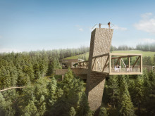 ZÜBLIN Timber baut neues Nationalpark-Besucherzentrum im Schwarzwald
