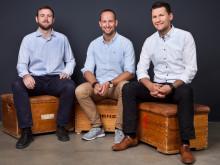 Die drei Gründer von Magazino