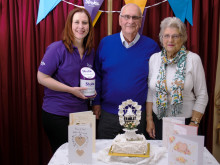 ​Spalding couple celebrate 50 years of marriage by raising funds for the Stroke Association