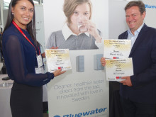 Bluewater Spirit Water Purifier Wins Prestigious International Innovation And Design Award At Europe's Biggest Tech Show, IFA Berlin 2015