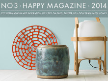 Nytt nummer ute av inspirationsmagasinet Happy Magazine