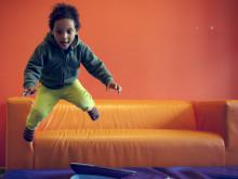 De yngste barna tar også risiko i lek