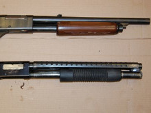 Three jailed for firearms and drug offences