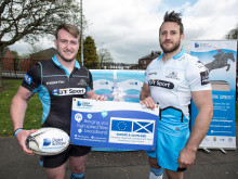 Glasgow Warriors stars score with superfast broadband