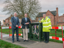 Matt Warman MP finds out more about fibre broadband rollout in Lincolnshire