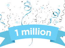 Celebrating the 1 millionth story on Mynewsdesk!