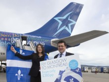 Air Transat launches new route from Montréal to Glasgow