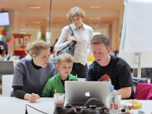 Børn vil være kodepirater