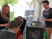TH Wildau mit 3D-Drucker, Biosensor und Mikroalgen-Bioreaktor beim 4. Potsdamer Tag der Wissenschaften am 21. Mai 2016