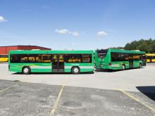 Systemtext helfolierar bussläp till Skånetrafiken i Kristianstad