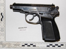 Images of recovered firearm