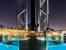 Swecon kohde Burj Al Arab Terrace sai kunniamaininnan Teräsrakennepäivässä