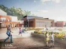 Tulevaisuuden koulu on terveellinen ja muunneltava - Kuokkalan jättikoulu laajenee Swecon asiantuntijoiden avustuksella
