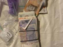 Cash seized as part of Op Coryzal