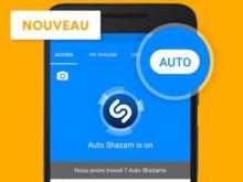 Avec Auto Shazam, vous pouvez identifier les chansons en continu!
