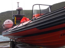 Video Showing St Helena Sea Rescue Boat Ceremony
