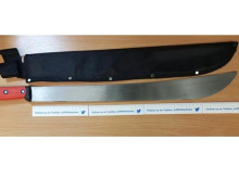 Knives seized by Hackney officers