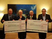 Offene Ohren und 2.500 Euro für die Deutsche Tinnitus-Stiftung Charité