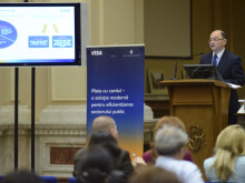 """Cătălin Creţu la a doua ediţie a conferinţei """"Plata cu cardul – o soluţie modernă pentru eficientizarea sectorului public"""""""