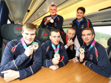 Virgin Trains makes sure special Olympians make it to PFA Awards