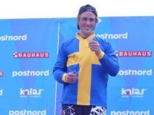 Filip Svanberg försvarade SM-guldet i BMX Racing