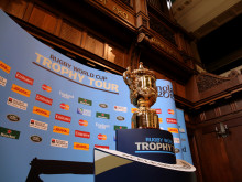 Northumbria welcomes iconic Web Ellis trophy ahead of Rugby World Cup