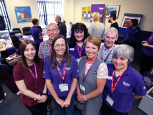 ​The Stroke Association and Anglian Water set out to conquer stroke during Make May Purple