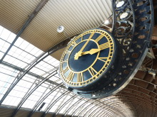 Tick Tock York station clock