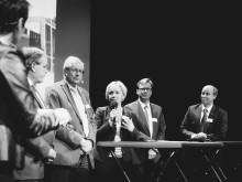 Rymdforum 2015 Paneldebatt med bl a Rymdninstern Helene Hellmark Knutsson