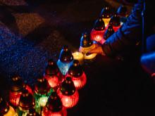Ljuslyktor tänds för att hedra Förintelsens offer 27 januari (2)