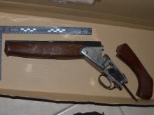 Recovered shotgun