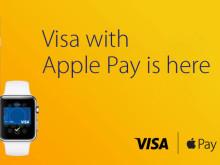 Apple Pay ab sofort für Millionen Visa Karteninhaber in Großbritannien verfügbar