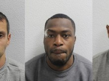 Three men jailed for over 50 years for cash machine thefts