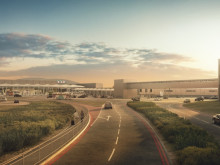 First glimpse of the new London Luton Airport