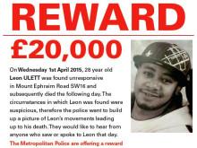 Reward offered following death of man