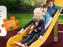 """Spendenaktion """"Stück zum Glück"""" feiert Eröffnung ihres ersten inklusiven Spielplatzes in Köln"""