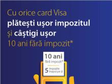 Visa lansează cea de-a şasea ediţie anuală a campaniei naţionale de plată a taxelor şi impozitelor locale cu cardul
