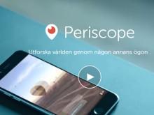 TNG livestreamar rekryteringsseminarium med Periscope
