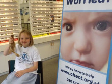 Fundraisers at Vision Express Portsmouth set to donate almost 4,000 to child eye cancer charity