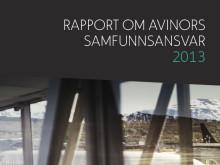 Rapport om Avinors samfunnsansvar 2013 publisert