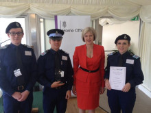 Police cadets win prize for cyber crime prevention