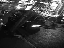 CCTV still of victim being attacked