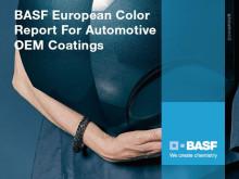 Billackering: BASF publicerar rapport om populäraste färgerna 2015