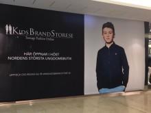 Idag öppnar KidsBrandStore sin första fysiska butik i Täby Centrum!