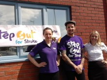 Blackpool fundraiser to walk the length of Britain for the Stroke Association