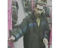 Appeal:  Man sought in connection with a sexual offence on a bus