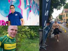 Folkvalda och kändisar startar i Uppsala Triathlon