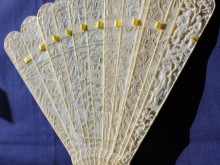 Two men sentenced for illegally exporting carved ivory fans