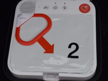 Roll-out of defibrillator units